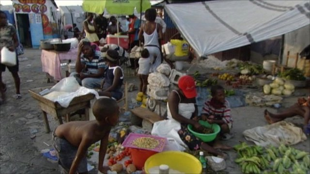 People in Haiti