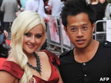 Carly Ashworth and Kenneth Tong