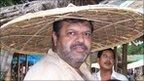 Gossainbarie tea estate owner Binod Saharia