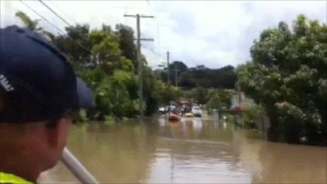 Fairfield residents evacuate Brisbane