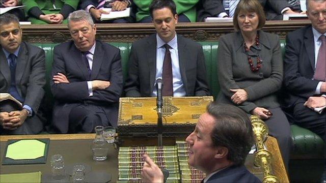 Ed Miliband and David Cameron