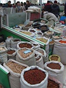 Anguo herb market