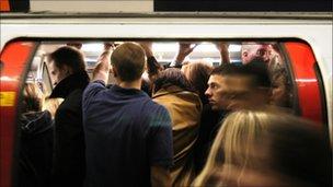 Crowded Tube
