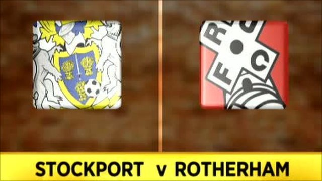 Stockport 3-3 Rotherham