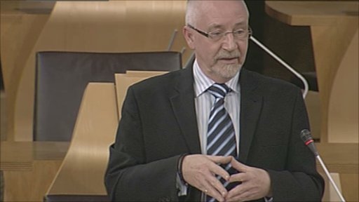 Hugh O' Donnell MSP launched the bill