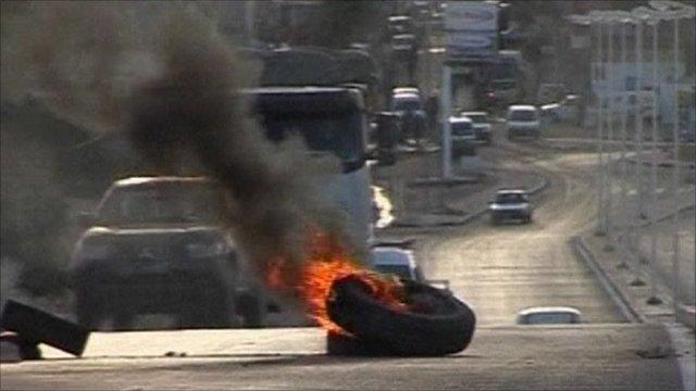 Riots in Tunisia