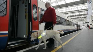 Pic: Guide Dogs for the Blind