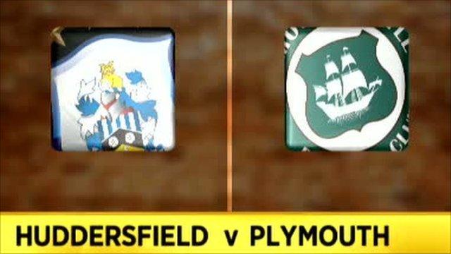 Huddersfield 3-2 Plymouth
