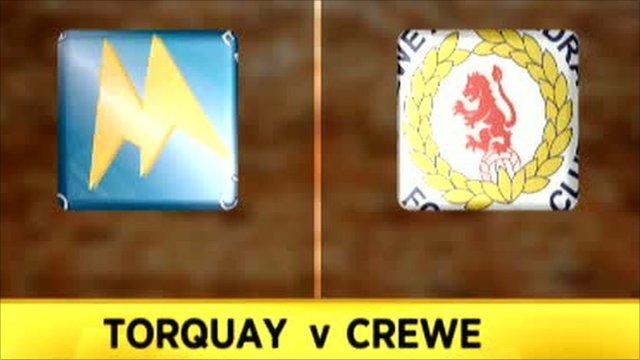 Torquay 2-1 Crewe