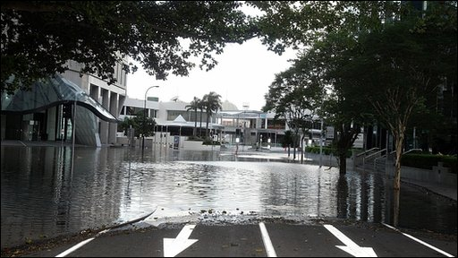 Flooding in Brisbane