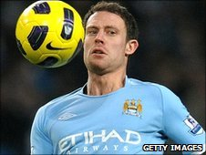 Wayne Bridge of Manchester City