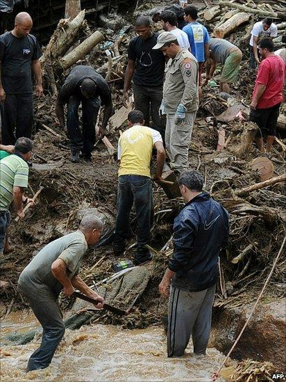 Наводнение в бразилии видео фото