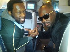 Wyclef Jean and Pras Michel