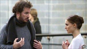 Darren Aronofsky with Natalie Portman