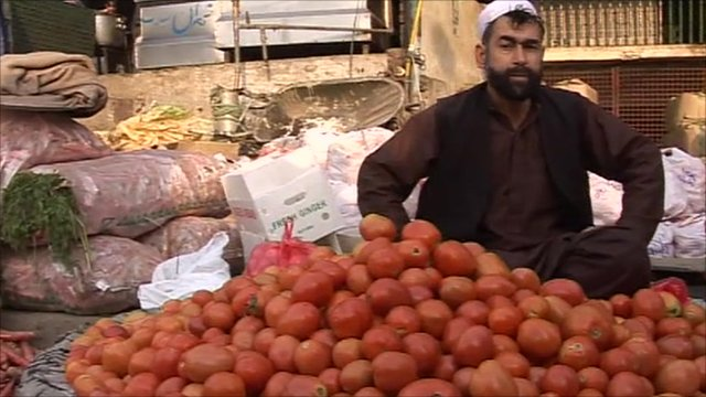 Market in Rawalpindi