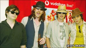 Supergrass, pictured in 2004