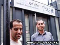 Ibrahim Avcil and Sami Ahmed from On Site