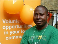Morrison Izebhokae - London 2012 volunteer hopeful
