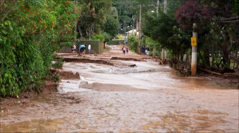 Floods in Teresopolis. Photo: Danilo Schinke