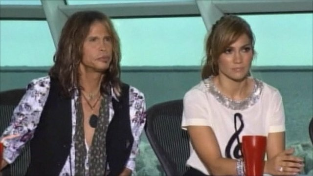 Steven Tyler and Jennifer Lopez