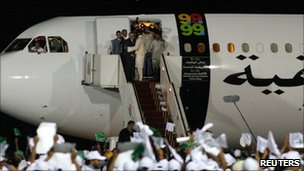 Megrahi returning to Libya