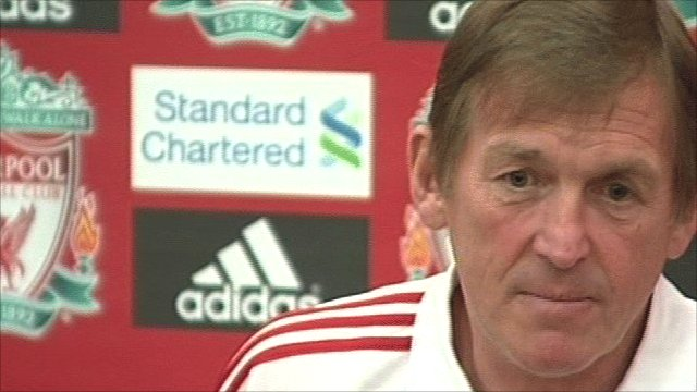 Liverpool caretaker manager Kenny Dalglish