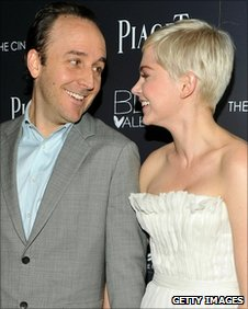 Director Derek Cianfrance and actress Michelle Williams