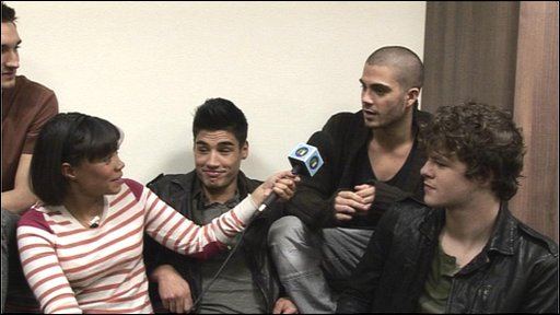 Leah meets The Wanted
