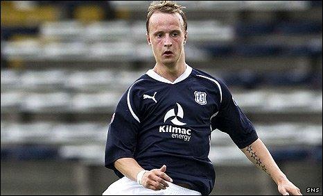 Dundee striker Leigh Griffths