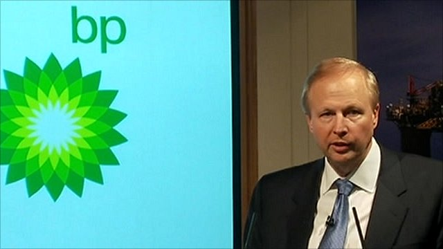 BP's chief executive Bob Dudley