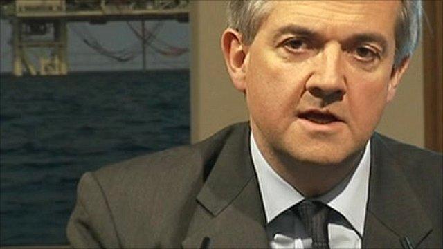 UK Energy Secretary Chris Huhne