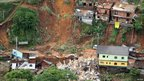 Landslide in Teresopolis, Brazil, 12 January 2011