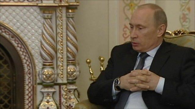 Vladimir Putin, Russian PM