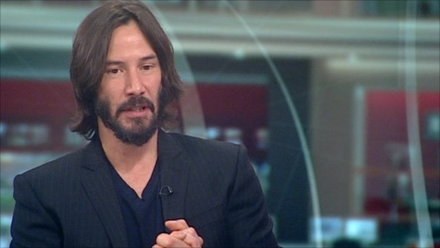 15 January 2011 Last updated at 05:53 ET Help. Actor Keanu Reeves has said ...