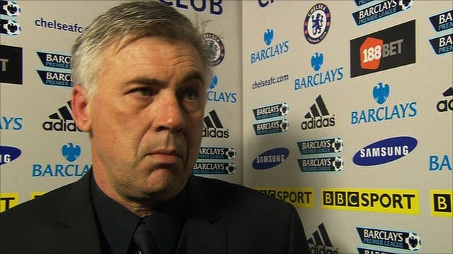 Chelsea boss Carlo Ancelotti reflects on his side&amp;apos;s win over Blackburn