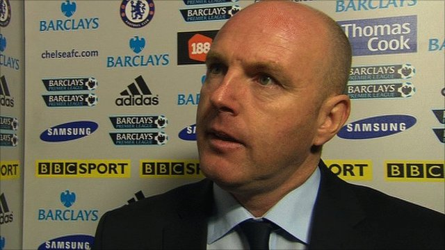 Blackburn boss Steve Kean reflects on his side's defeat at Chelsea