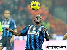 Ghana & Inter Milan midfielder, Sulley Muntari