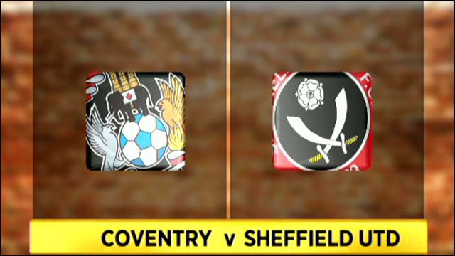 Coventry v Sheff Utd