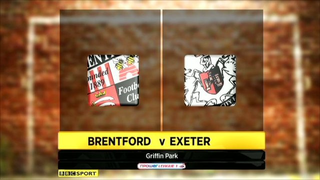 Brentford 1-1 Exeter