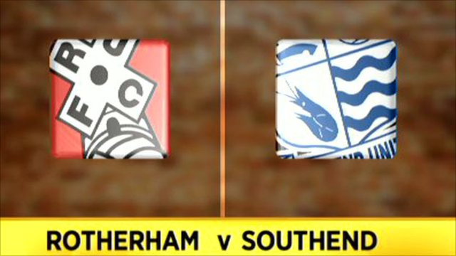 Rotherham 1-2 Southend