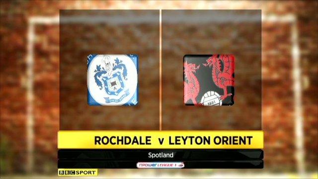 Rochdale 1-1 Leyton Orient