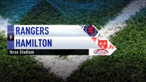 Rangers v Hamilton