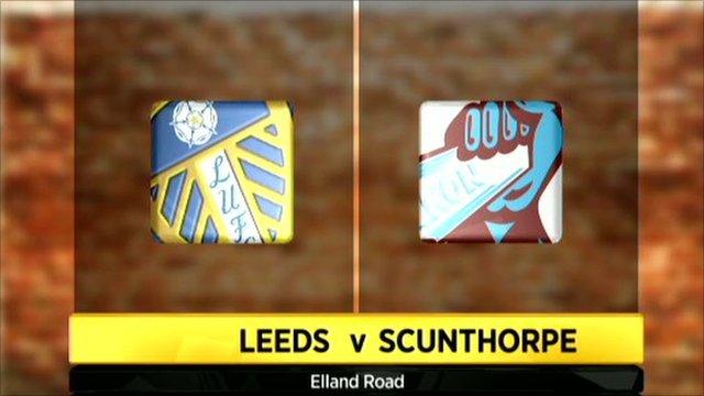 Leeds 4 - 0 Scunthorpe