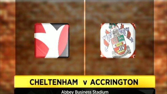 Cheltenham 1-2 Accrington Stanley