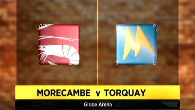 Morecambe 2-1 Torquay