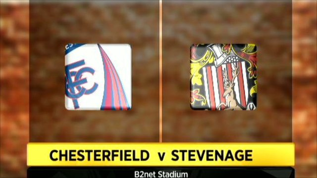 Chesterfield 1-0 Stevenage