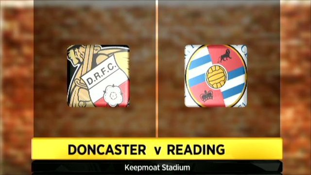 Doncaster 0-3 Reading