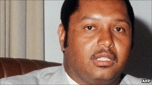 Jean-Claude Duvalier in March 1982