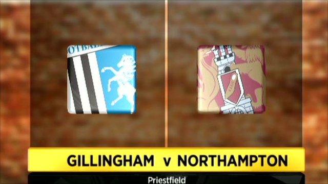 Gillingham 1-1 Northampton