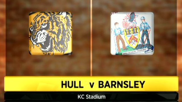 Hull 2 - 0 Barnsley